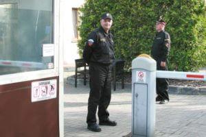 Физическая охрана объектов: сотрудники при исполнении