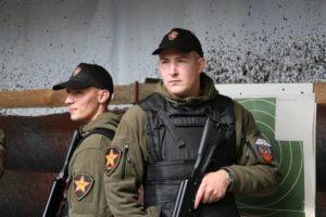 Фото сотрудников ЧОП «Патриот» в обмундировании