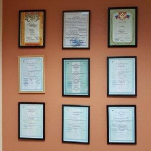 Фотографии лицензий на охранную деятельность
