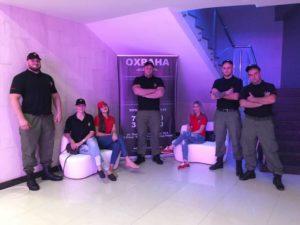 Снимок сотрудников ГК «Патриот» на Голосящем КиВиНе 2017