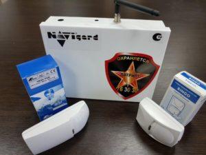 Изображение базового комплекта сигнализации от ГК «Патриот»