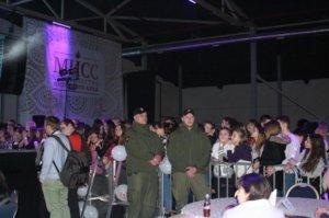Фото сотрудников охраны на концерте