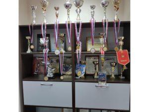 Фотографии наград и медалей сотрудников ЧОП «Патриот»