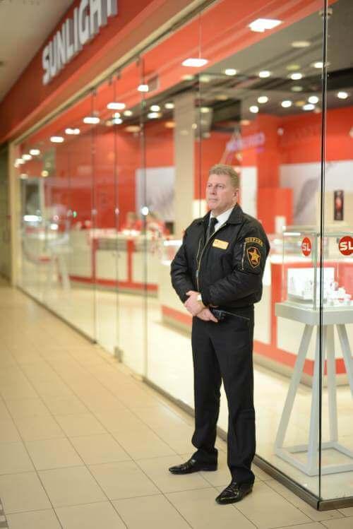 Круглосуточная охрана ювелирного магазина