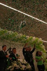 Фото с торжественного открытия Леруа Мерлен