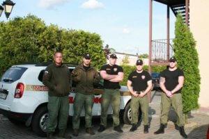 Фотография охранников ЧОП «Патриот» в Балтийске