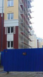 Фото охраняемого строительного объекта
