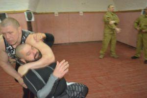 Фото с семинара по боевому самбо