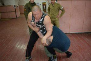 Фотография чемпиона мира по боевому самбо Максима Новоселова