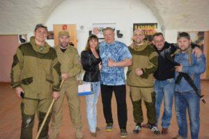Фотография с семинара по боевому самбо Дмитрием Забототовым и Максимом Новоселовым